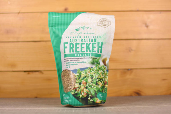 Chef's Choice Premium Cracked Roasted Freekeh 500g Pantry > Grains, Rice & Beans