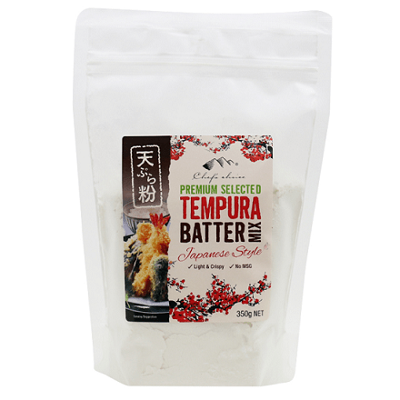 Chef's Choice Tempura Batter Mix 350g Drinks > Drinking Chocolate & Blends