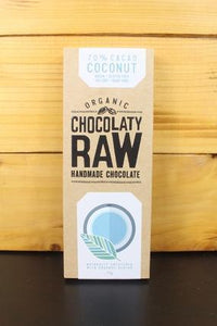Chocolaty Raw Chocolaty Raw Coconut 75g Pantry > Granola, Cereal, Oats & Bars