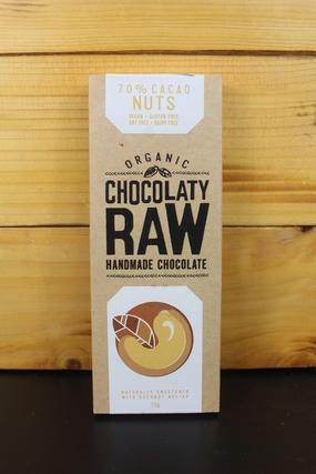 Chocolaty Raw Nib Crunch 75g