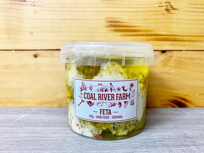 Coal River Coal River Feta Herb & Garlic 330g Dairy & Eggs > Cheese