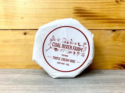 Coal River Coal River Triple Brie 200g Dairy & Eggs > Cheese