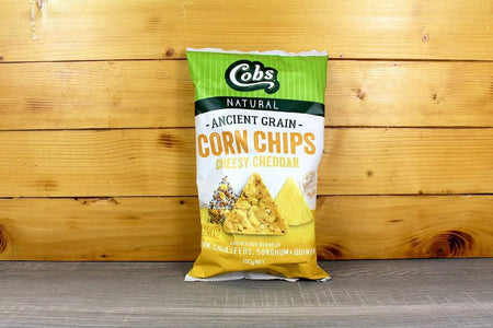 Cobs Ancient Grain Corn Chips Cheese 130g Pantry > Chips & Savoury Snacks