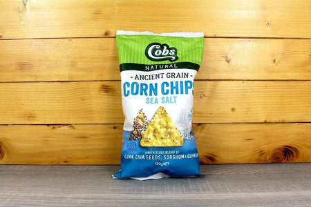 Cobs Ancient Grain Corn Chips Seasalt 130g Pantry > Chips & Savoury Snacks