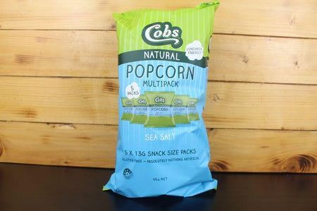 Cobs Cobs Sea Salt Multipack 65g Pantry > Cookies, Chips & Snacks