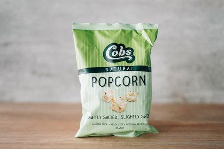 Cobs Lightly Salted Slightly Sweet Popcorn 30g Pantry > Cookies, Chips & Snacks