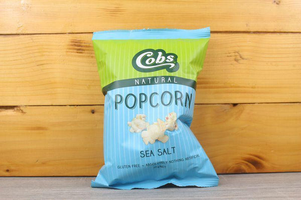 Cobs Natural Popcorn Sea Salt 20g Pantry > Chips & Savoury Snacks