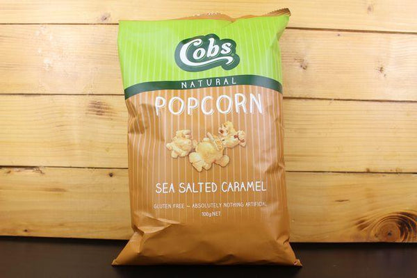 Cobs Sea Salted Caramel Popcorn 100g Pantry > Chips & Savoury Snacks