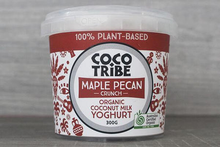 Coco Tribe Coco Tribe Maple Pecan Yoghurt 300g Dairy & Eggs > Dairy Alternatives