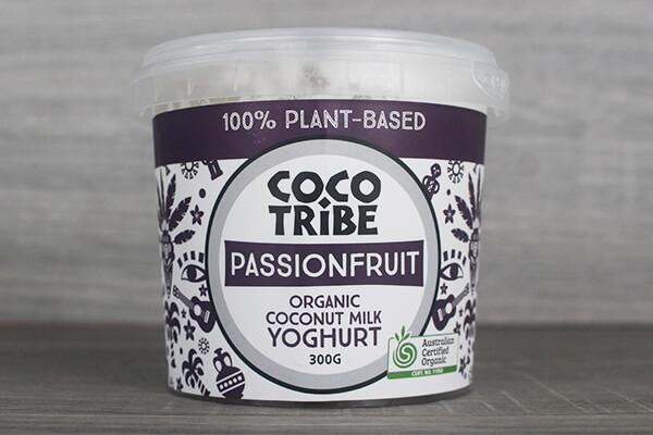Coco Tribe Coco Tribe Passionfruit Yoghurt 300g Dairy & Eggs > Dairy Alternatives
