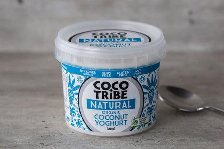 Coco Tribe Organic Natural Coconut Yoghurt 300g* Dairy & Eggs > Dairy Alternatives