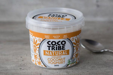 Coco Tribe Organic Vanilla Bean Coconut Yoghurt 300g* Dairy & Eggs > Dairy Alternatives