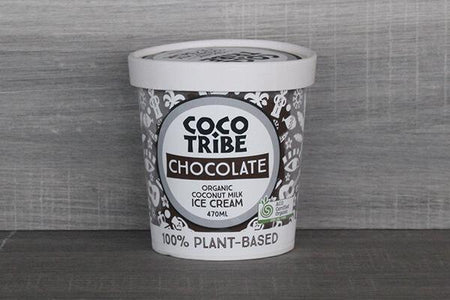 CocoTribe Booza Ice Cream Chocolate Coconut Ice Cream  470ml Freezer > Ice Cream