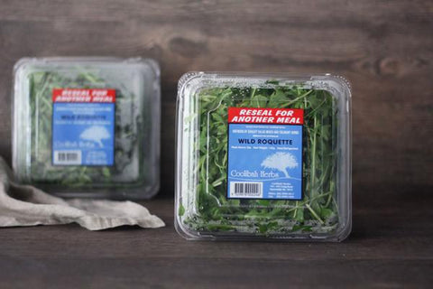 Organic Baby Salad Leaves 120g*