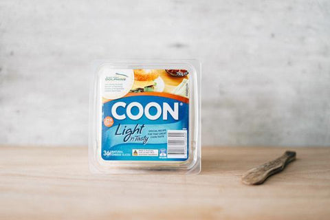 Coon Light & Tasty Shredded 250g