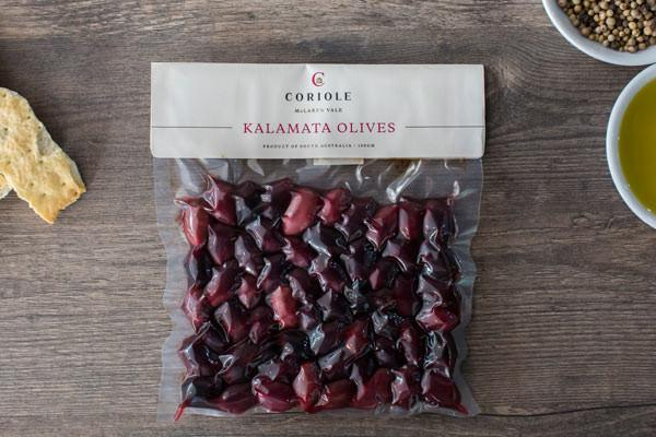 Coriole Kalamata Olives 150g Pantry > Antipasto, Pickles & Olives
