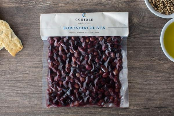 Coriole Koroneiki Olives 150g Pantry > Antipasto, Pickles & Olives