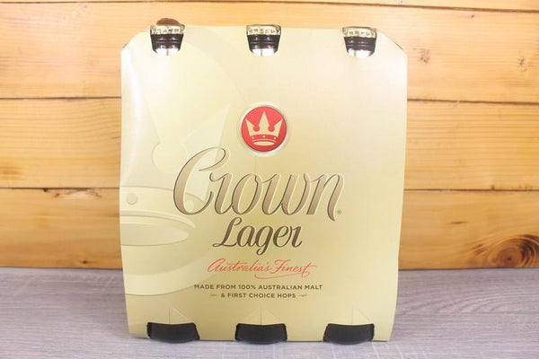 Crown Lager (6 x 37.5cl) Alcohol > Beer & More