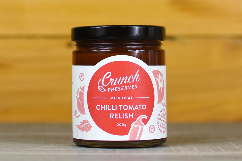 Crunch Preserves Chilli Tomato Relish 200g Pantry > Condiments