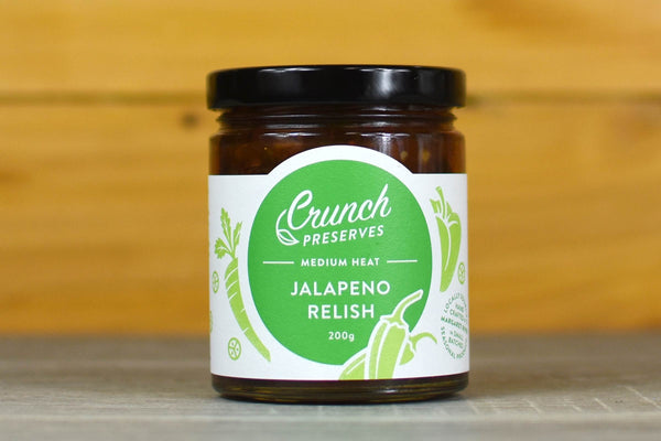 Crunch Preserves Jalapeno Relish 200g Pantry > Condiments