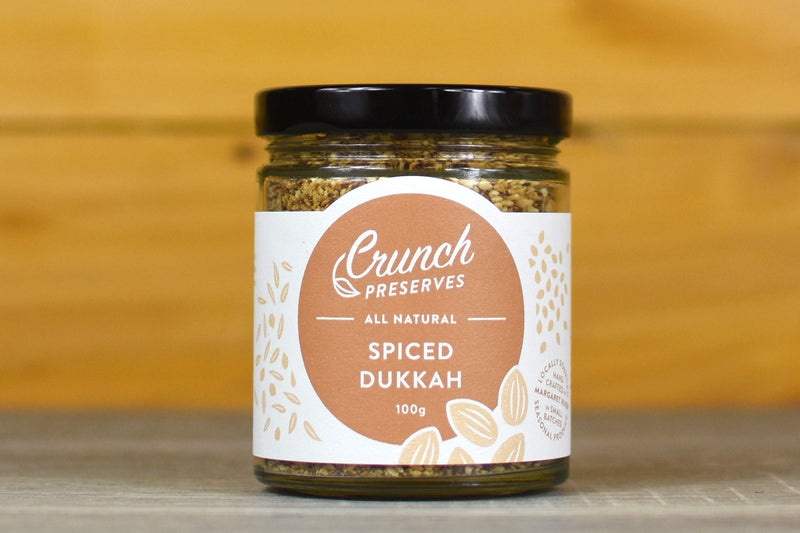 Crunch Preserves Spiced Dukkah 100g Pantry > Condiments