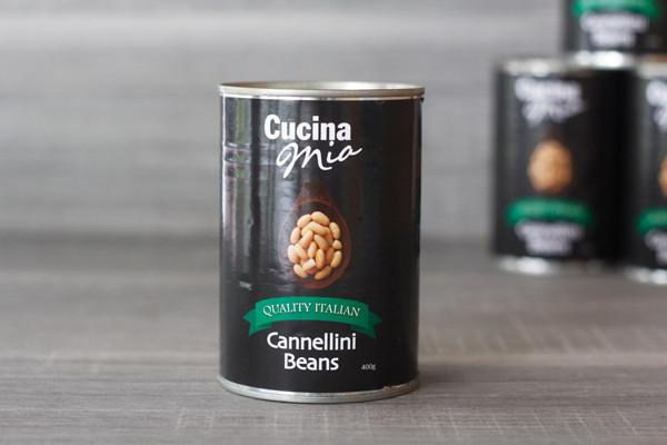 Cucina Mia Cannellini Beans 400g Pantry > Canned Goods