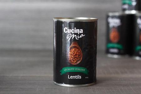Cucina Mia Lentils 400g Pantry > Canned Goods