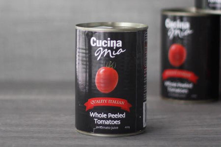 Cucina Mia Peeled Tomatoes in Tomato Juice 400g Pantry > Canned Goods