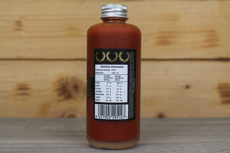 Culley's Brutality Hot Sauce -  150ml Pantry > Fresh Sauces, Condiments & Dressings