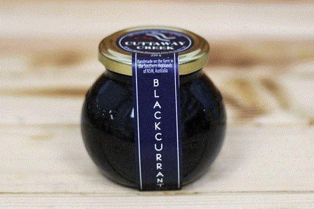 Cuttaway Creek Blackcurrant Jam 220g Pantry > Nut Butters, Honey & Jam