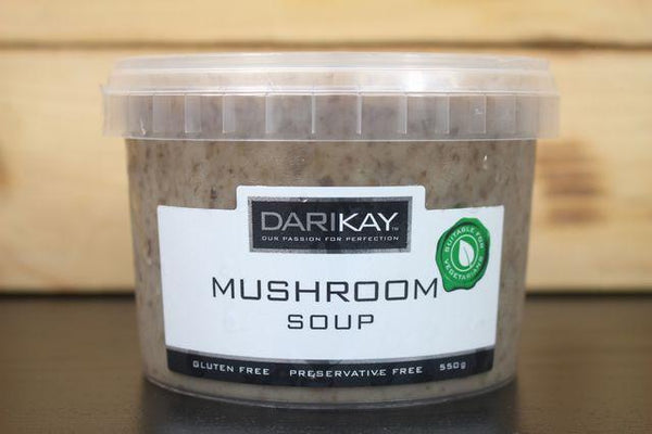 Dari's Kitchen Mushroom Soup 550g Pantry > Broths, Soups & Stocks