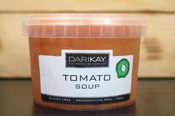 Dari's Kitchen Tomato Soup 550g Pantry > Broths, Soups & Stocks
