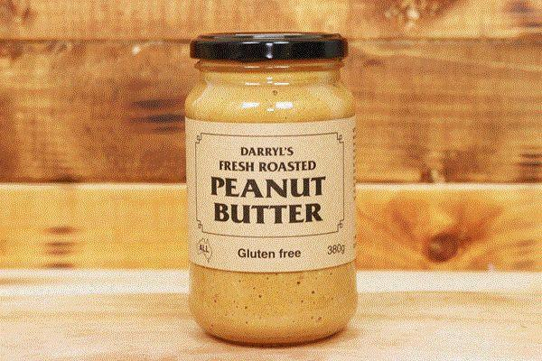 Darryl's Gluten Free Peanut Butter 380g Pantry > Nut Butters, Honey & Jam