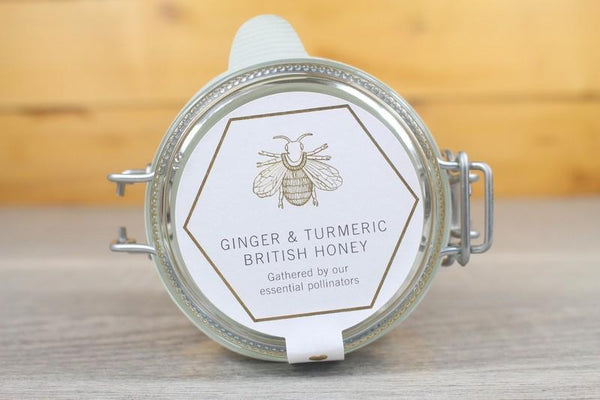 Daylesford Ginger & Turmeric British Honey 227g Pantry > Nut Butters, Honey & Jam