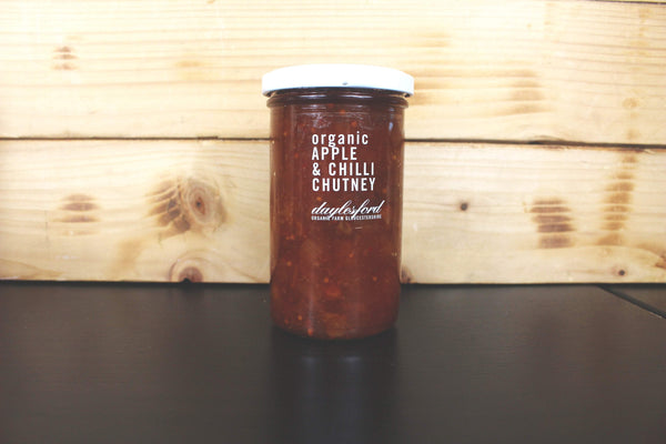 Daylesford Organic Apple Chilli Chutney 280g Pantry > Pasta, Sauces & Noodles