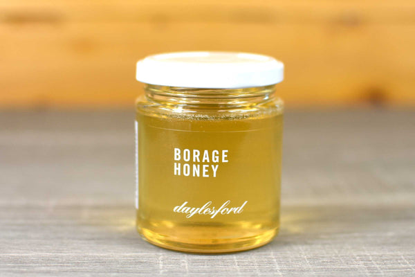 Daylesford Organic Borage Honey 227g Pantry > Nut Butters, Honey & Jam