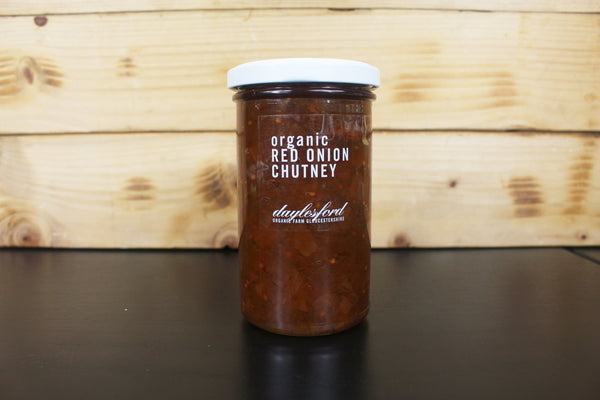Daylesford Organic Red Onion Chutney 280g Pantry > Pasta, Sauces & Noodles