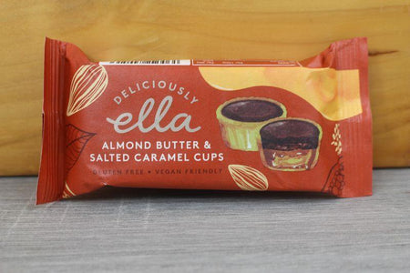 Deliciously Ella Almond Butter & Salted Caramel Cups 36g Pantry > Confectionery