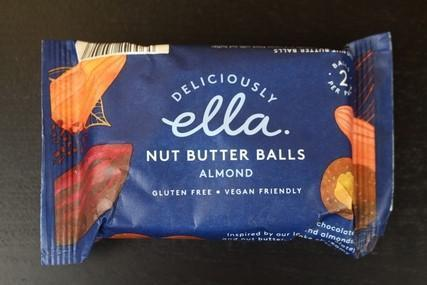 Deliciously Ella Almond Nut Butter Ball 36g Pantry > Granola, Cereal, Oats & Bars