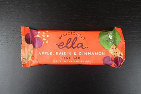 Deliciously Ella Apple, Raisin & Cinnamon Oat Bar 50g Pantry > Granola, Cereal, Oats & Bars