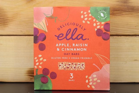 Deliciously Ella Apple, Raisin & Cinnamon Oat Bar Multipack 3 X 50g Pantry > Granola, Cereal, Oats & Bars