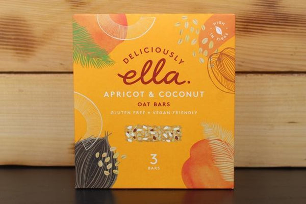 Deliciously Ella Apricot & Coconut Oat Bar Multipack 3 X 50g Pantry > Granola, Cereal, Oats & Bars