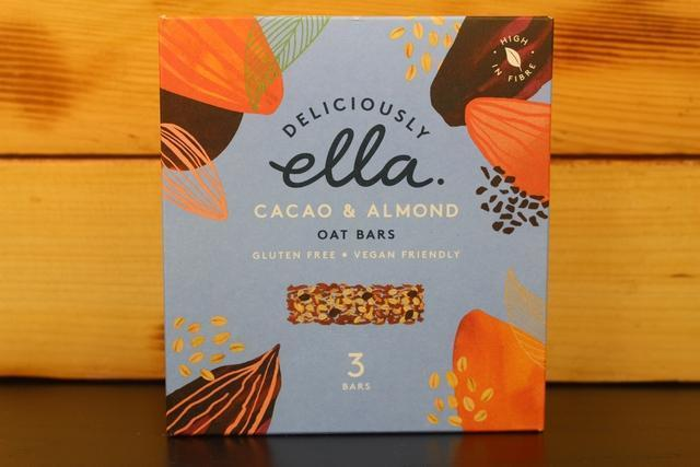 Deliciously Ella Cacao & Almond Oat Bar Multipack 3 X 50g Pantry > Granola, Cereal, Oats & Bars