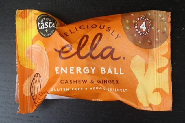 Deliciously Ella Cashew & Ginger Energy Ball Pantry > Granola, Cereal, Oats & Bars