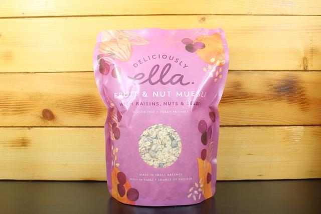 Deliciously Ella Fruit & Nut Muesli 500g Pantry > Granola, Cereal, Oats & Bars