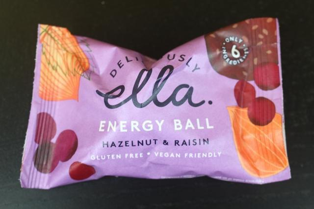 Deliciously Ella Hazelnut & Raisin Energy Ball Pantry > Granola, Cereal, Oats & Bars