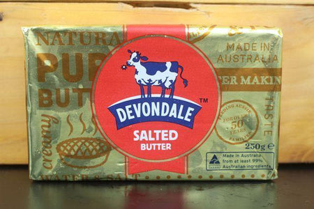 Devondale Devondale Salted Butter 250g Dairy & Eggs > Butter
