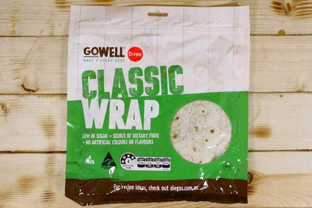 Diego's GoWell Classic Wraps (8 Pack) Bakery > Wraps