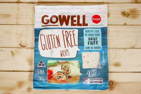 Diego's GoWell Gluten Free Wraps (6 Pack) Bakery > Wraps