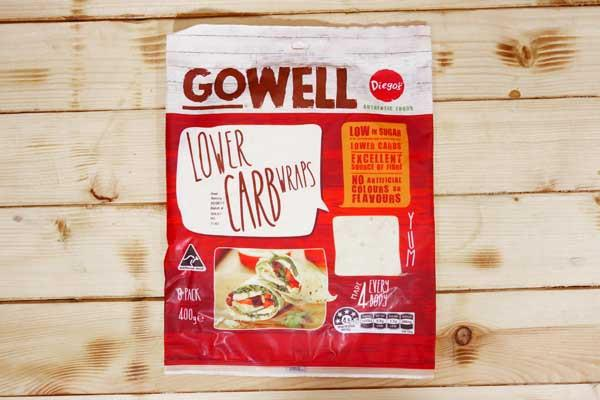 Diego's GoWell Lower Carb Wraps (8 Pack) Bakery > Wraps